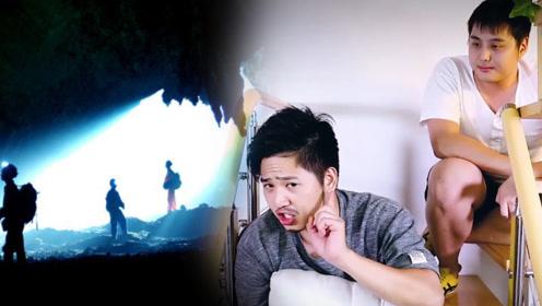 搞笑小故事:少年山洞探险身负重伤,没过几天决定再去一趟!