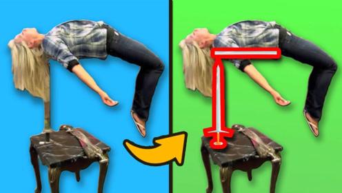 魔术揭秘:女子在剑上面躺着,为何却没有受伤?
