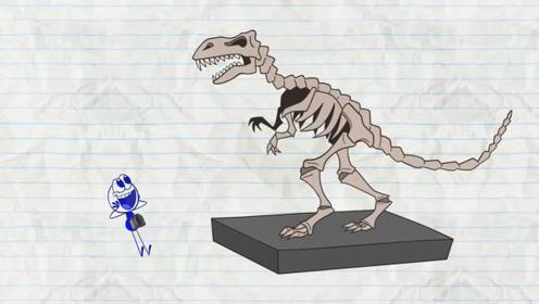 男子竟让恐龙当模特,还因此登上杂志,最后才发现是幻想!