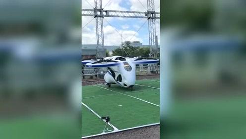 飞行汽车开始试飞