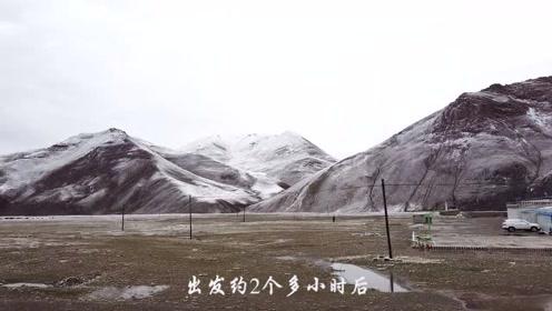 一觉醒来世界一片白,西藏一山有四季,十里不同天