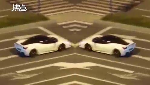 跑车炸街!杭州法拉利司机深夜猛踩油门 开车飞驰
