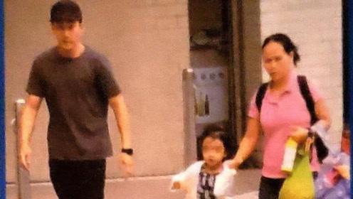刘恺威生病宁愿推迟就医也要接女儿放学,小糯米长大了气质像杨幂