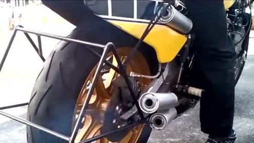 2冲程4气缸发动机经典霸王雅马哈YZF750