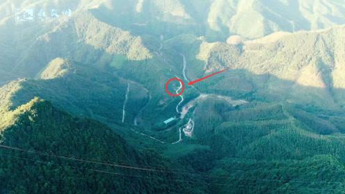 这里的地形真壮观,看看无人机拍到的画面,你是否也觉得不一般?