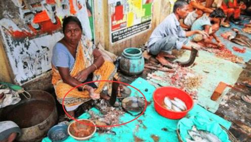 """印度""""菜市场""""有多脏?OMG,网友:看完两天都吃不下饭!"""