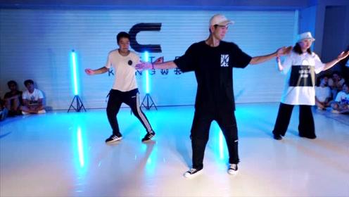 hiphop编舞,下课直接开拍,氛围很不错哦