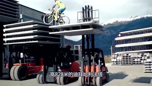 大师级攀爬车手Brumotti,点燃激情与力量