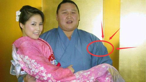 """现实版""""美女与野兽"""",为何日本美女争相嫁给""""相扑""""选手,看完吓一跳"""