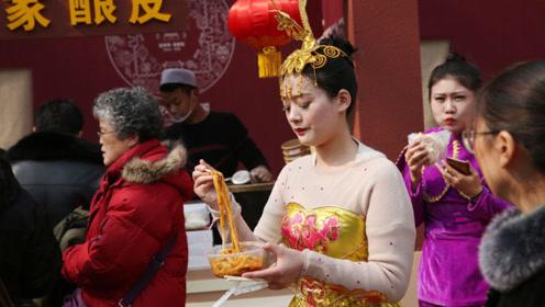 西安街头表演女演员回应被大爷强抱:身上有酒味,未报警