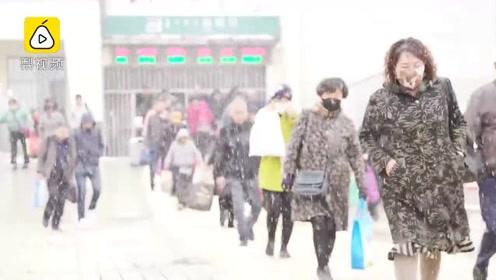 内蒙古乌海发布暴雪蓝色预警,多条高速国道封闭