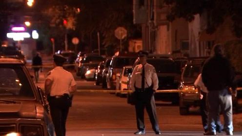 时隔两月枪案再起!美国费城13日晚枪击事件已致6人受伤