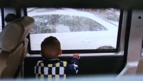 幼童被反锁车中,民警:车窗留缝也危险,无法阻止温度上升