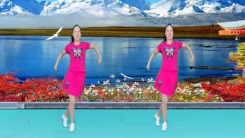 河南丽儿广场舞《爱如星火》动感32步,减肥塑形