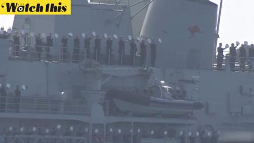日本防卫大臣遗憾宣布:国际观舰式因台风被迫中止