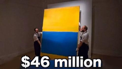 """她不懂艺术,办了场假画展,自己乱画的""""作品""""竟被估价一千英镑!"""