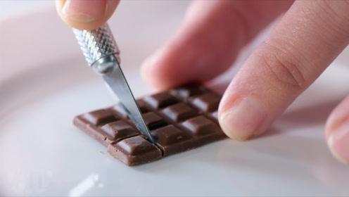 """堪称""""地狱级变态""""巧克力,只有橡皮大小,至今没人能吃完!"""