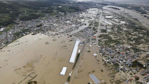 """60秒直击台风""""海贝思""""登陆:现场一片汪洋,已致21人遇难"""