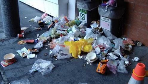 台湾景区满地垃圾有人怪陆客,台网友:他们都不来了,别自欺欺人