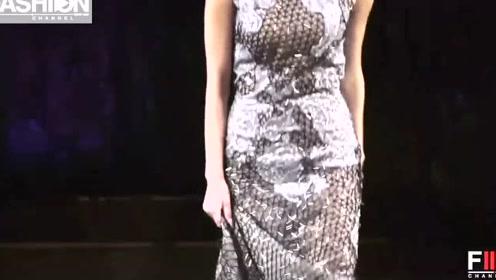 这裙子太长了,模特提起来走美感尽失,设计师太不用心了!