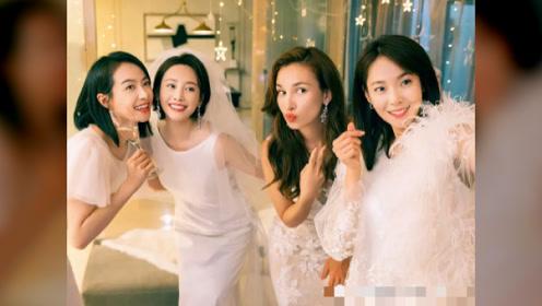 宋茜新剧正在热拍中,一位男主搭档四位女主,演员阵容有点强大