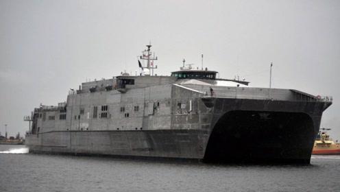 这一艘科幻战舰,隐身性能比F22还要厉害?全球仅此一艘
