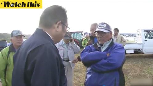 日本台风灾民当面怒斥地方市长 后者一脸老实默默低头挨训