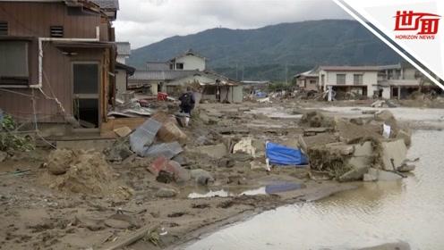 """""""海贝思""""已造成日本74人死亡 安倍:灾难影响或将持续"""