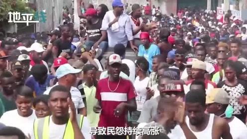万名海地艺术家集体抗议要求总统下台:我们需要食物和水电!