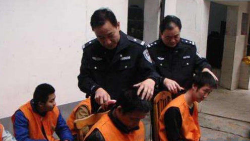 为什么犯人进监狱前,都要剃成光头?看完后总算知道原因了!