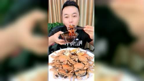 海鲜吃播:辣油版八爪鱼爆头