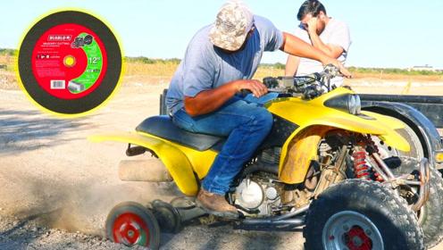 用黑胶唱片代替沙滩车轮胎,油门一拧,好戏才刚刚开始!