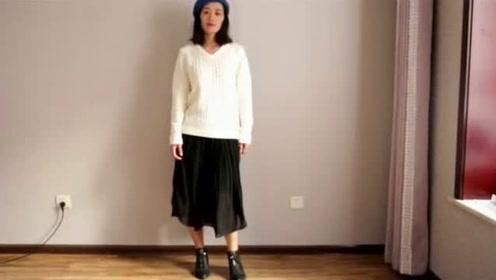毛衣+裙子的搭配  今年秋天这么穿美炸了!