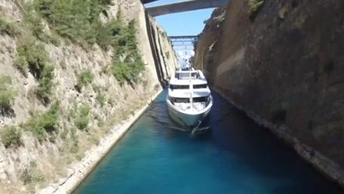 世界上最失败的运河,花了12年时间开凿,如今只够摆渡船通过