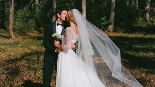 超模小KK晒婚纱照庆祝结婚一周年 夫妻俩甜蜜拥吻