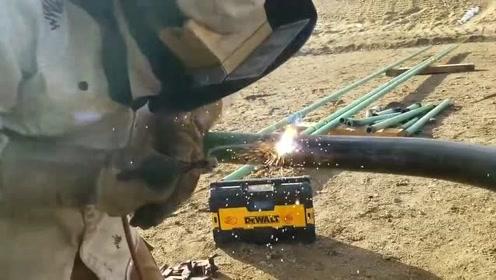 顶级电焊工教你如何正确焊接管道,这手艺太牛了