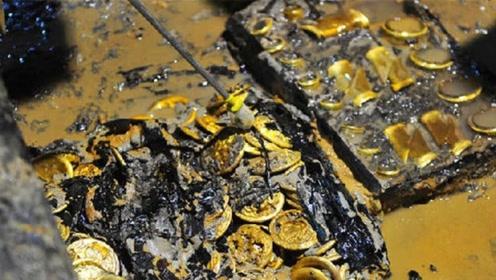 内蒙古惊现千年大墓,墓主人身份尊贵,出土时还穿着金色寿衣!