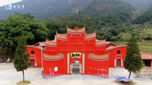 航拍广西贺州市红沙庙,这是个非常有特色的庙宇,你来过这里吗?