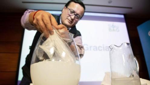 3个能食用的塑料袋,最快10秒降解,白色污染有救了