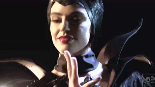 当《沉睡魔咒》的玛琳菲森唱起碧梨的《Bad Guy》
