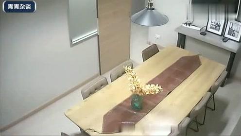 老公不放心漂亮妻子在家,偷偷看了监控以后,彻底不淡定了