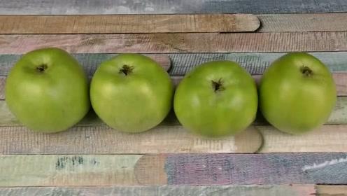 看看苹果的创意吃法,俄罗斯人的日常食物