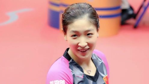 笑得真甜!刘诗雯加冕世界杯五冠王破纪录,刘国梁1决定太英明