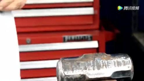 一个生锈铁锤子,看看高手是怎么除锈的