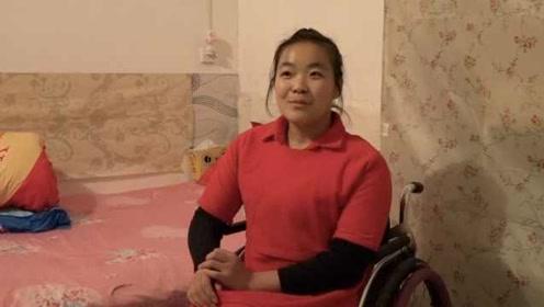 从没怨不公平!轮椅女孩跑马感动全网:说服家人独自工作生活