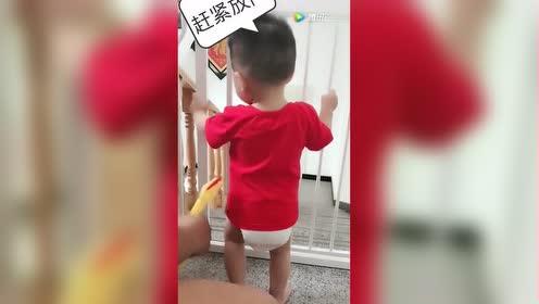 当爸的教育不听话的孩子竟然可以这样!让人意想不到