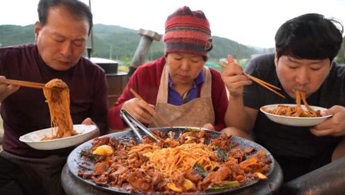 韩国炸酱面和国内有什么区别?成品太诱人,网友:肉居然这么多