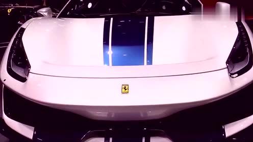 地表最强V8亮相,2019全新法拉利488pista超跑车展实拍