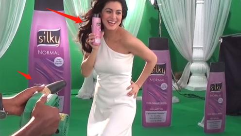 洗发水广告原来是这么拍的,难怪头发那么飘逸,看完解开多年疑惑