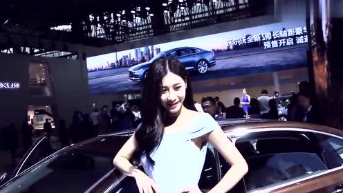 心动瞬间:好美的车模,性感美丽,百看不厌